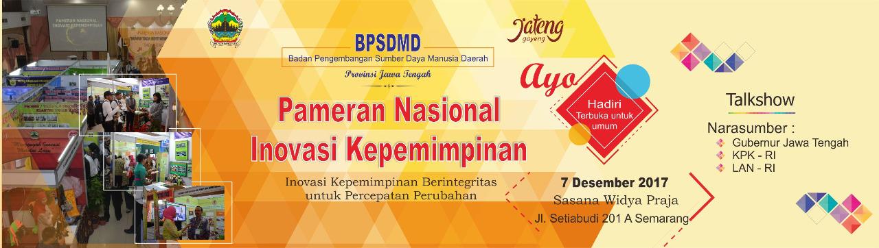 Pameran Nasional Inovasi Kepemimpinan BPSDMD