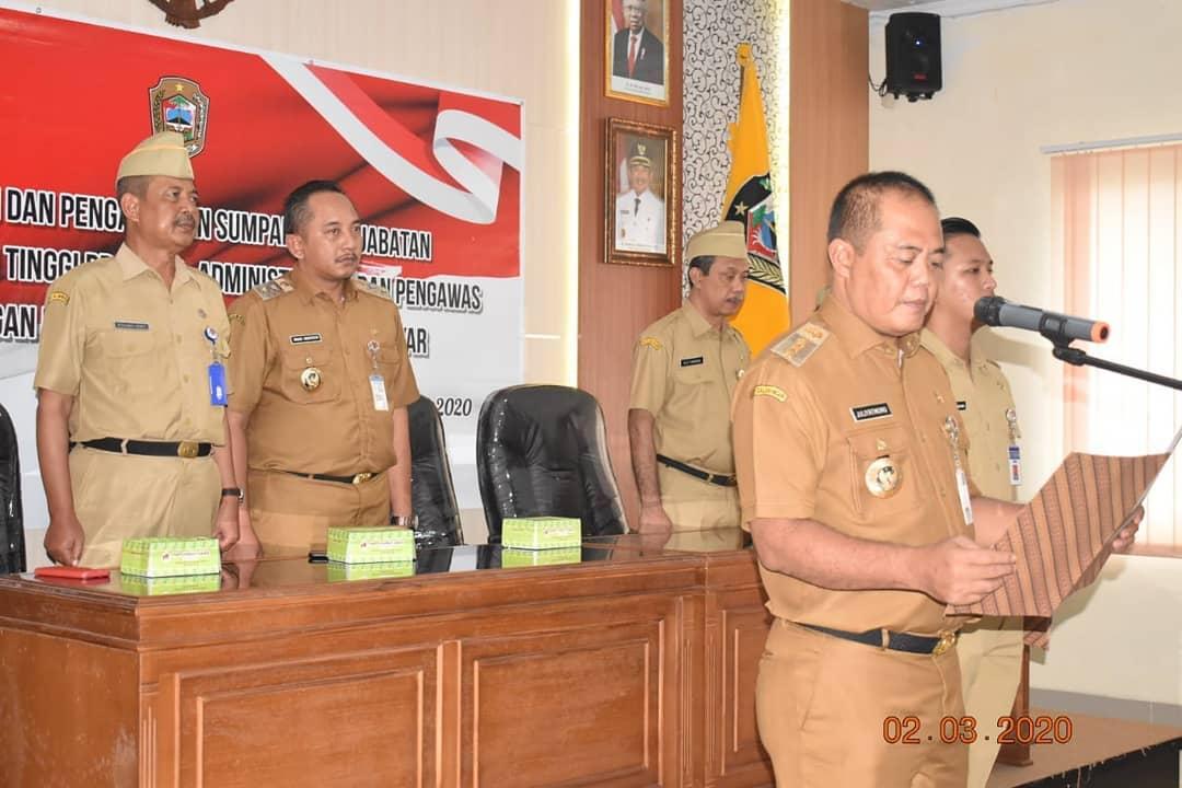 Bupati Mutasi 37 JPT Pratama, Administrator dan Pengawas