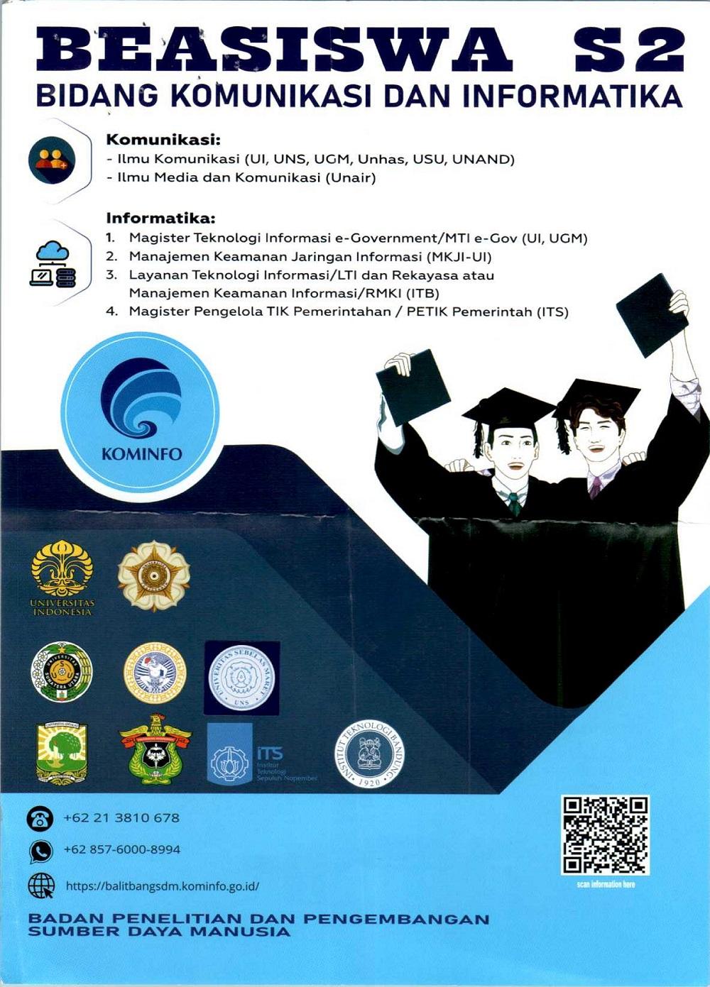 Pembukaan Beasiswa S2 Dalam Negeri Bidang Kominfo