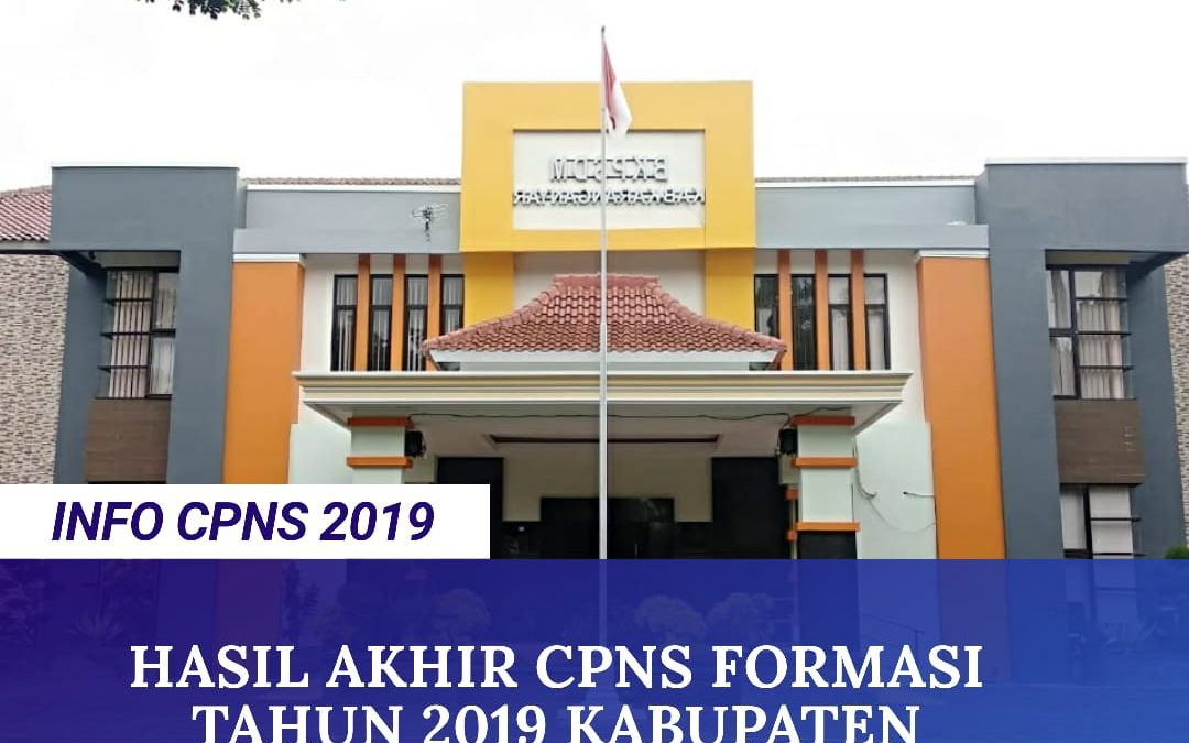 Hasil Akhir CPNS 2019